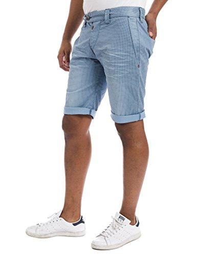Timezone Shorts JannoTZ in blue tie minimal