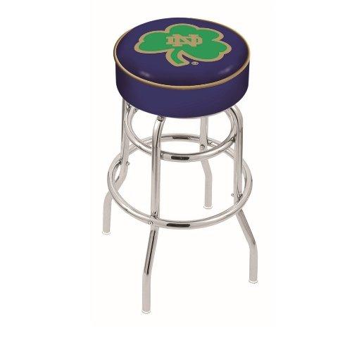"NCAA Notre Dame Fighting Irish, Shamrock 30"" Bar Stool"
