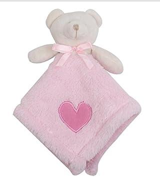 Sun Glower Toalla de Mano Suave Toalla de bebé Juguetes Toalla de algodón Oso de Peluche Toy_Pink: Amazon.es: Juguetes y juegos