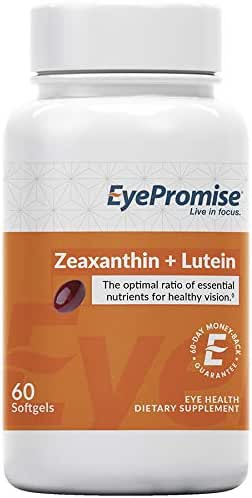 EyePromise Zeaxanthin + Lutein Eye Vitamin - Protect & Enhance Macular Health