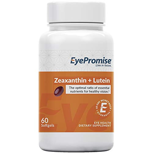 EyePromise Zeaxanthin + Lutein Eye Vitamin - Protect & Enhance Macular Health (Best Vitamins For Eyes To Prevent Macular Degeneration)