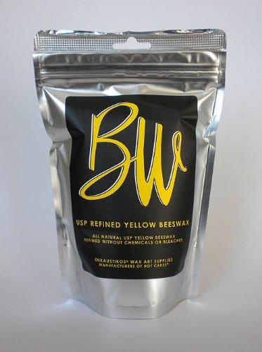Beeswax Us Pharmaceutical Grade Yellow 16 Oz Resealable Bag By Enkaustikos