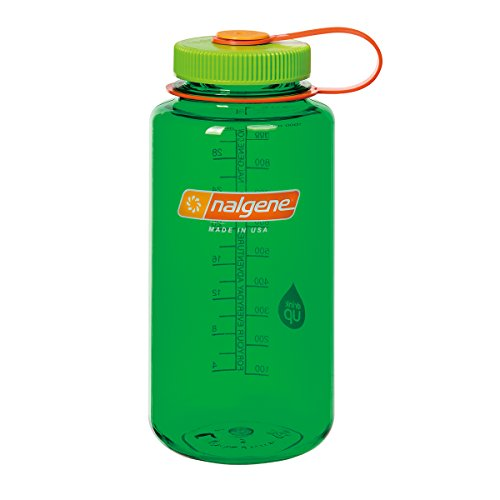 Nalgene Wide Mouth Water Bottle: 32oz, Melon Ball