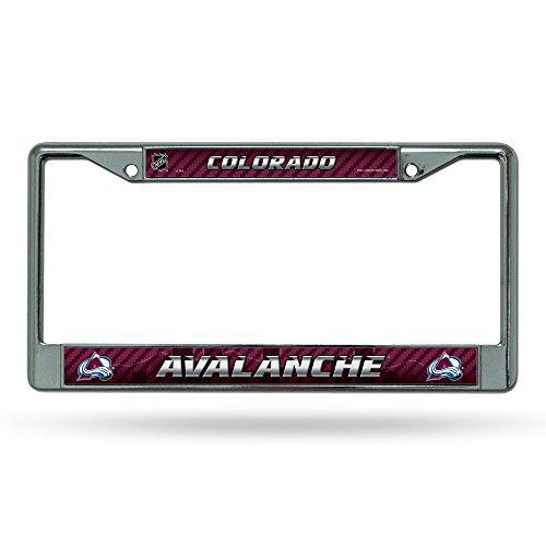 NHL Colorado Avalanche Chrome Frame