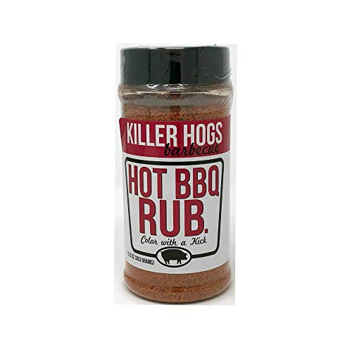 (Killer Hogs Hot BBQ Rub 12.8 Ounce)