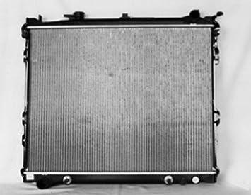 New Replacement Aluminum Radiator Fits CU2063 for 1996-1998 Mazda MPV 3.0L V6