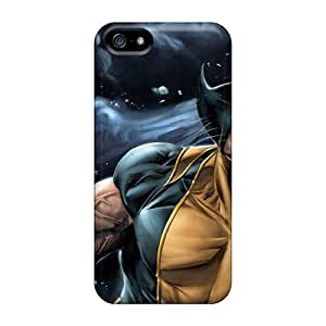 Cute Tpu Fascinating Laugh Wolverine Case Cover For Iphone 5/5s