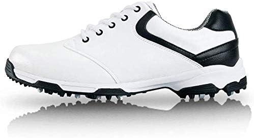メンズゴルフシューズ、アンチスリップスニーカー防水カジュアルシューズ (Color : D, Size : 43EU)