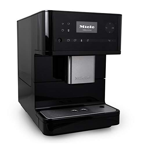 Miele CM6150 OneTouch Countertop Super Automatic Coffee & Espresso Machine - Obsidian Black