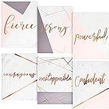 Paper Junkie Pocket Folders with Rose Gold Foil