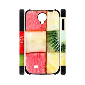 Hoomin Tasty Color Fruit Pattern Samsung Galaxy S4 I9500 Cell Phone Cases Cover Popular Gifts(Laster Technology)