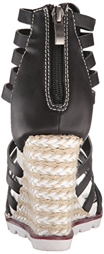 Humble Lips Black Too Sandal Too Women Wedge 2 qRgOwq