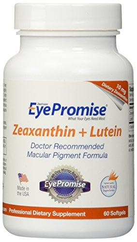 EyePromise Zeaxanthin Lutein Eye Vitamin - Protect amp Enhance Macular Health Discount