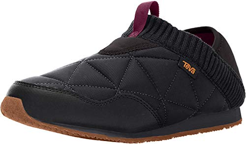 Teva Women's W Ember Moc Shoe, Black, 8 M US