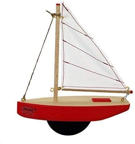 Unbekannt Ogas 2166 Segel-Yacht mit Kiel Holzboot Segelboot aus Holz