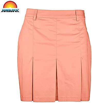 Ladies Golf Chervo Jenaro falda naranja, color Naranja - naranja ...
