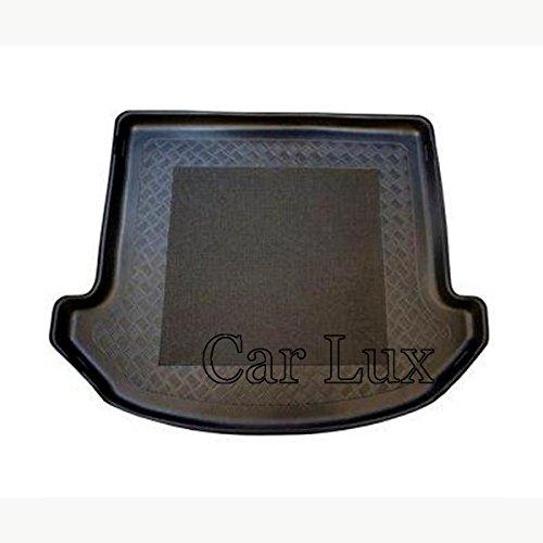 Car Lux AR02877 Alfombra Cubeta Protector cubre maletero a medida para Santa Fe