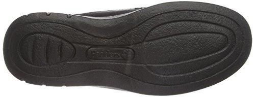 para cordones Negro hombre Lunar Padders de 636N Zapatos aq8xvXw