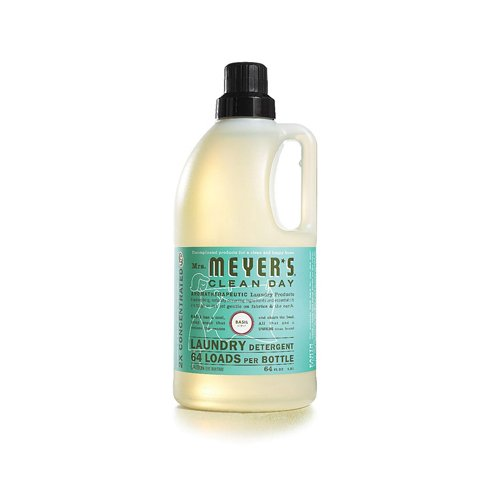 Mrs. Meyer s 2X Laundry Detergent - Basil - Case of 6 - 64 oz by Mrs. Meyers