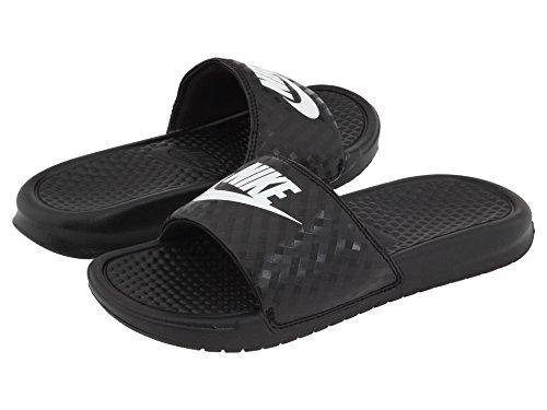 (ナイキ) NIKE レディースサンダル?靴 Benassi JDI Slide Black/White 8 (25cm) B - Medium