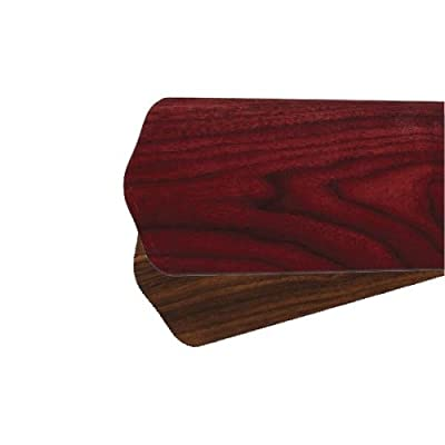Quorum 8-78525-44, Five Reversible Rosewood/Walnut Type 4 Scalloped Blades