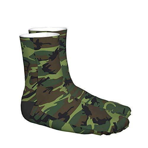 Dary Green Tactique Camouflage Militaire Armée Thème Chaussettes Imprimer Femmes Hommes Confortable Running Athlétique… 4