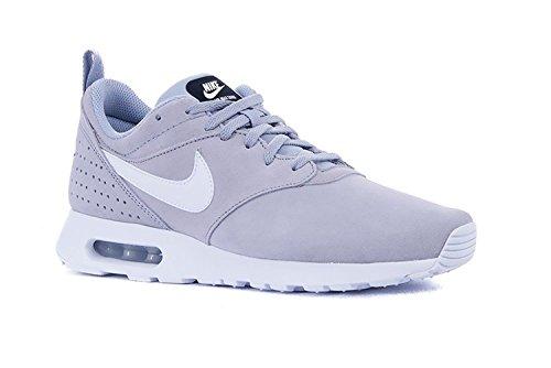 Nike AIR MAX TAVAS LTR - Zapatillas para hombre Gris / Blanco / Negro (Wolf Grey / White-Black)