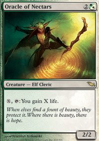 Magic: the Gathering - Oracle of Nectars - Shadowmoor - (Shadowmoor Foil)
