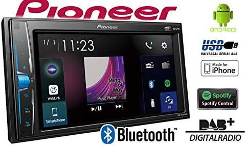 Pioneer Dmh A3300dab 2 Din Multimedia Player 6 2 Zoll Cleartype Touchscreen Smartphone Anbindung Usb Dab Dab Digitalradio Weblink Bluetooth 13 Band Grafikequalizer Auto