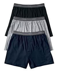 Hanes Boys\' Tagless Boxers 5-Pack, S-Assorted