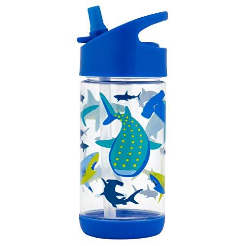 Stephen Joseph Flip Top Bottle, One Size, SHARK
