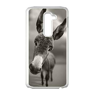 LG G2 Cell Phone Case White Donkey A38441027