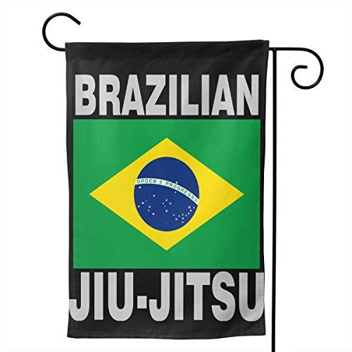 Nfuquyamluggage Seasonal Garden Flags for Outdoors, Brazilian Jiu Jitsu Decoration | Durable, Polyester