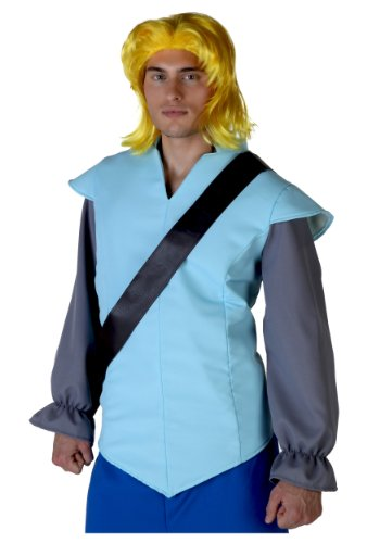 [Fun Costumes mens John Smith Wig Standard] (Pocahontas Wig)