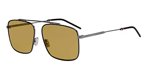Dior Gafas de Sol 0220S RUTHENIUM/BROWN hombre: Amazon.es ...