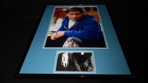 Emilio Estevez Signed Framed 16x20 Photo Display St Elmo's Fire