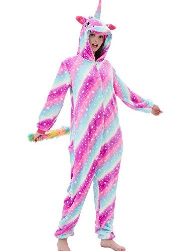 ABENCA Zip up Fleece Onesie Pajamas for Women