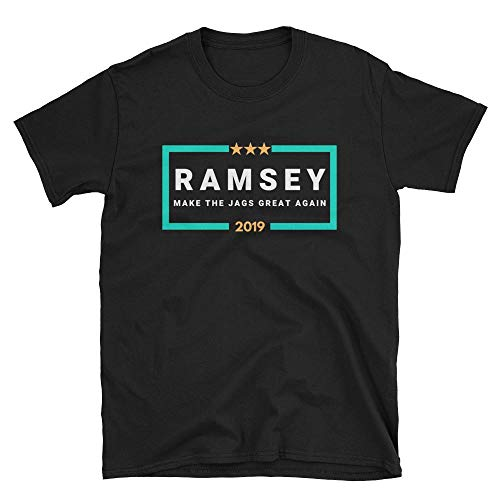 LiberTee Ramsey Make The Jags Great Again Tshirt for Men and Women, Funny 2019 Football Shirt for Jaguar Fans
