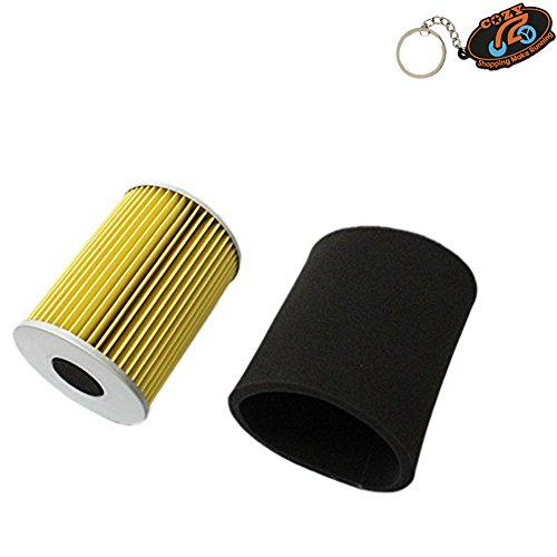 Cozy New Pack of Air Filter & Pre Filter for Yamaha G2 G8 G9 G11 4 Cycle  Gas Golf Cart 1985-1994 Replace J38-14450-00 J10-14417-00