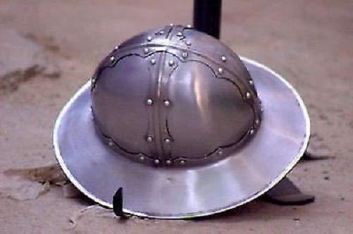 QUALITYMUSICSHOP Celebration Medieval Kettle Hat Helmet Role-Play Infantry