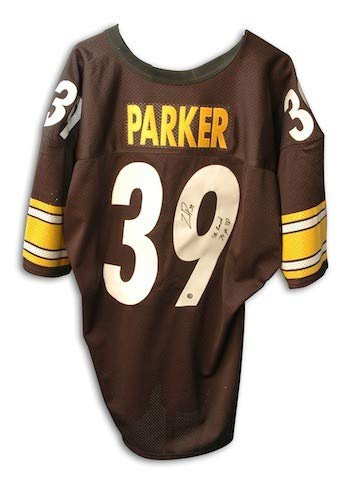 - Autographed Willie Parker Steelers Jersey inscribed SB Record 75 YD TD Run - Certified Authentic Signature
