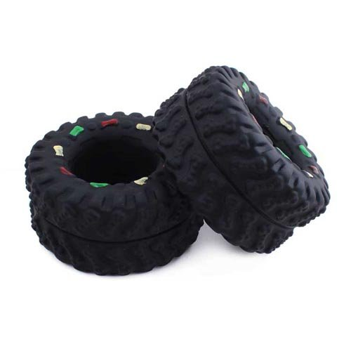 Pet Playing Clean Toy Cat Puppy Dog Tyre Diameter 8cm