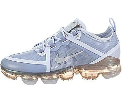 Nike Boys Air Vapormax 2019 45 M Us Pure Platinummetallic