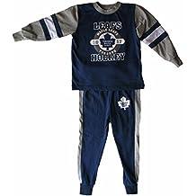 Toronto Maple Leafs Toddler Glow In The Dark Pyjamas