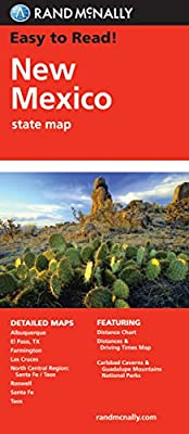 Easy To Read: New Mexico State Map