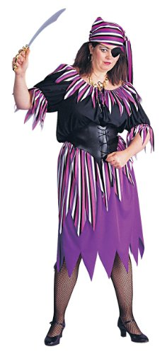 Plus Size Carmen Pirate Wench Costume - Womens Full -