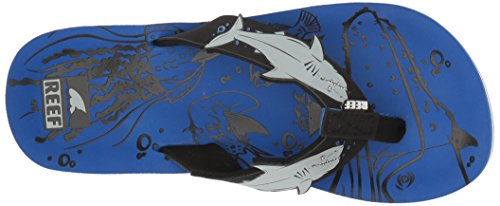 Large Product Image of Reef Boys' AHI Sandal, Blue Shark, 13-1 Youth US Little Kid