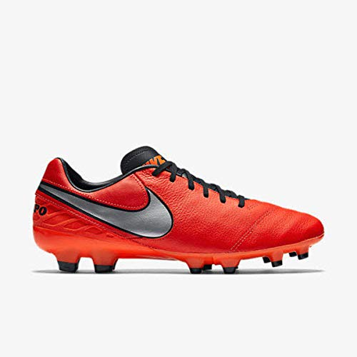 Nike Tiempo Mystic V FG Firmground Soccer Cleats - Crimson Size: 6.5