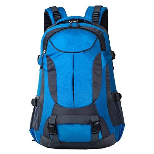 Xin Senderismo Mochila Montañismo Deportes Y Ocio Camping Viajes Excursiones Multi-funcional Mochila Al Aire Libre. Multicolor Blue