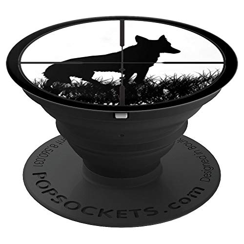 Coyote Hunting PopSockets Grip - PopSockets Grip and Stand for Phones and Tablets